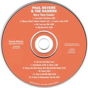 Paul Revere & The Raiders - Here They Come! (1965) *Re-Up*