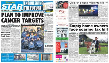Shropshire Star Shrewsbury Edition – January 11, 2019