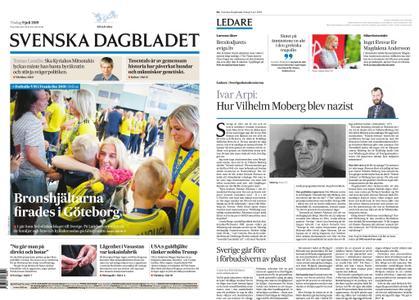 Svenska Dagbladet – 09 juli 2019
