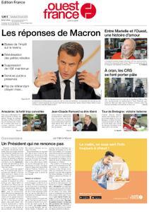 Ouest-France Édition France – 26 avril 2019