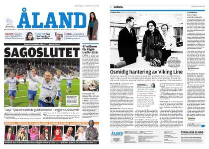 Ålandstidningen – 05 november 2018
