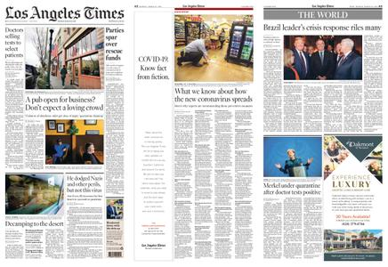 Los Angeles Times – March 23, 2020