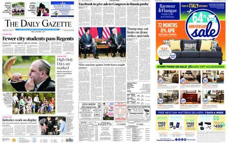 The Daily Gazette – September 22, 2017