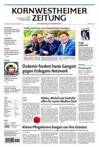 Kornwestheimer Zeitung - 22. September 2018