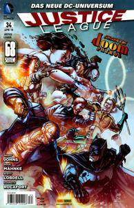 Justice League 34 Panini 2015 Drg