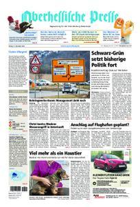 Oberhessische Presse Marburg/Ostkreis - 21. Dezember 2018