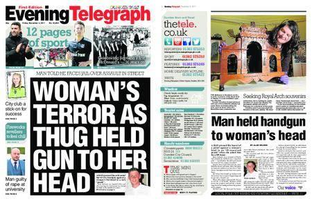 Evening Telegraph First Edition – November 03, 2017