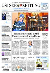 Ostsee Zeitung Wolgast - 30. November 2018