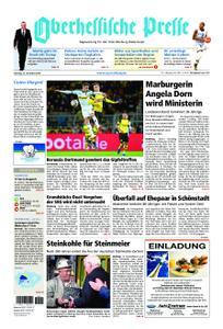 Oberhessische Presse Marburg/Ostkreis - 22. Dezember 2018