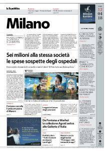 la Repubblica Milano - 12 Aprile 2018