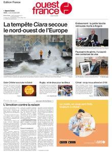 Ouest-France Édition France – 10 février 2020