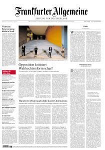 Frankfurter Allgemeine Zeitung - 27 August 2020