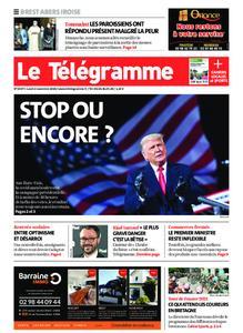 Le Télégramme Brest Abers Iroise – 02 novembre 2020