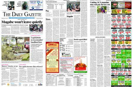 The Daily Gazette – November 20, 2017