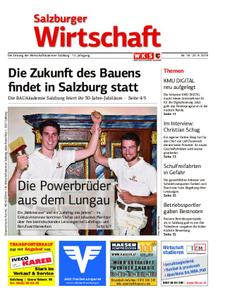Salzburger Wirtschaft – 20. September 2019