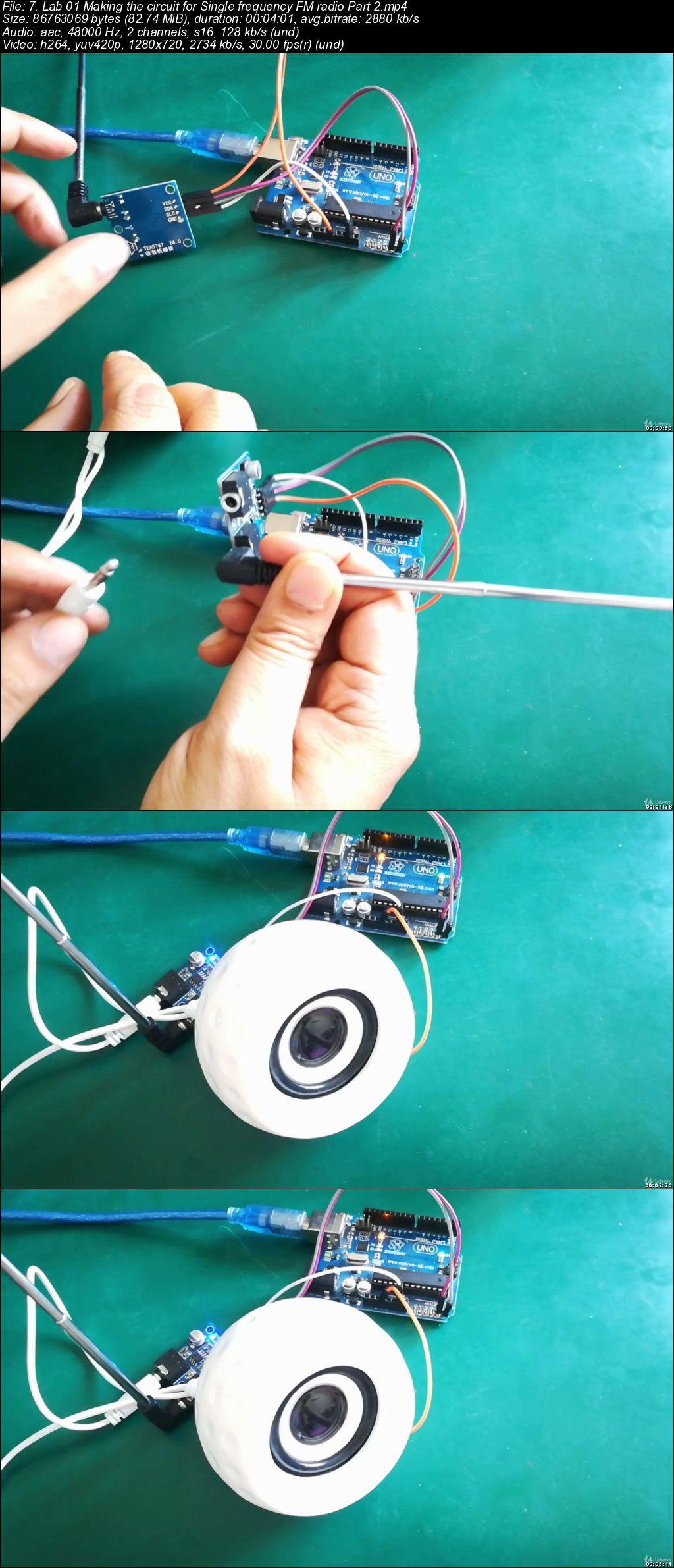 Learn Arduino I2C by making an Arduino UNO FM radio receiver
