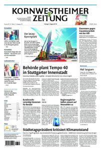 Kornwestheimer Zeitung - 09. August 2019