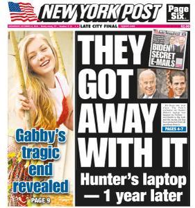 New York Post - October 13, 2021