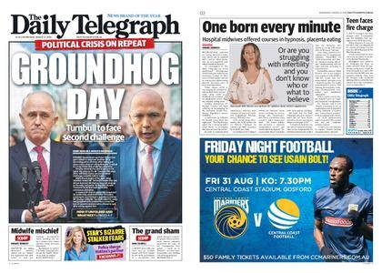 The Daily Telegraph (Sydney) – August 22, 2018