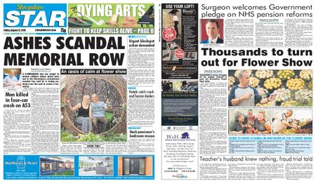 Shropshire Star Shrewsbury Edition – August 09, 2019