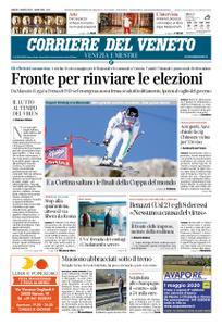Corriere del Veneto Venezia e Mestre – 07 marzo 2020