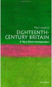 Eighteenth Century Britain A Very Short Introduction