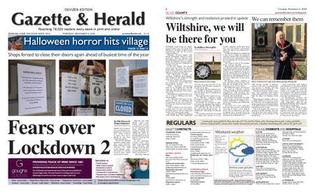 Gazette & Herald – November 05, 2020