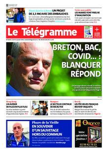 Le Télégramme Brest – 11 janvier 2021