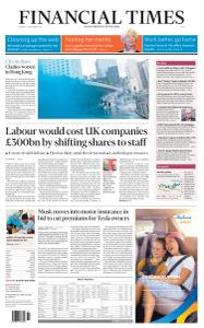 Financial Times Asia - September 2, 2019