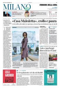Corriere della Sera Milano – 21 novembre 2019