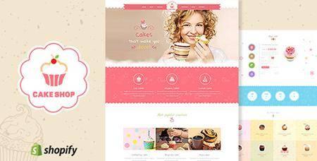 ThemeForest - Cake Shop v1.2 - Bakery, Cafe Shopify Theme - 17378074