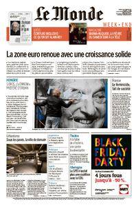 Le Monde du Samedi 25 Novembre 2017