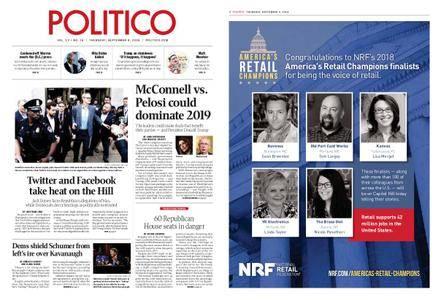 Politico – September 06, 2018