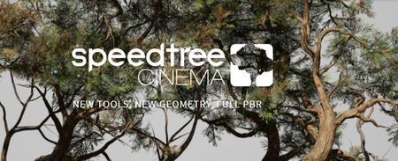 SpeedTree Modeler 8.2.1 Cinema Edition (x64)