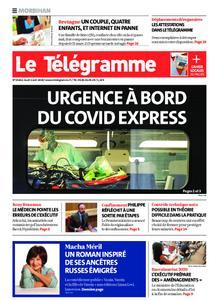Le Télégramme Auray – 02 avril 2020