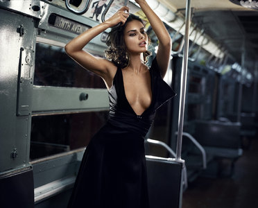 Adriana Lima by Vincent Peters Photoshoot for Numero Tokyo #72 December 2013