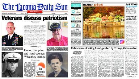 The Laconia Daily Sun – November 11, 2020
