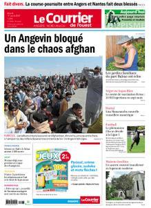 Le Courrier de l'Ouest Angers – 17 août 2021