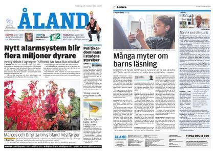 Ålandstidningen – 26 september 2019