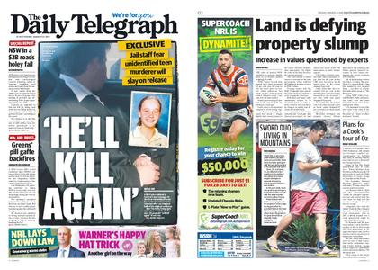 The Daily Telegraph (Sydney) – January 22, 2019