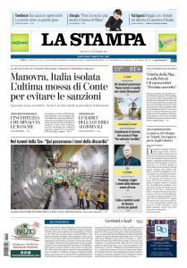 La Stampa Torino Provincia e Canavese - 15 Novembre 2018
