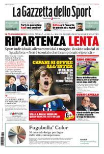 La Gazzetta dello Sport Roma – 27 aprile 2020
