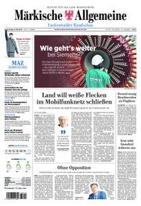Märkische Allgemeine Luckenwalder Rundschau - 09. Mai 2019