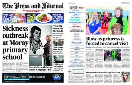 The Press and Journal Moray – January 25, 2018