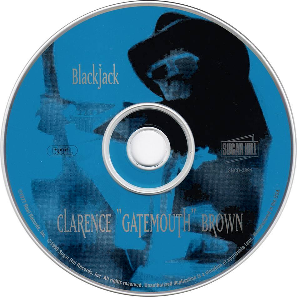 Clarence Gatemouth Brown Blackjack 1977 Reissue 1999