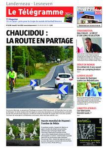 Le Télégramme Landerneau - Lesneven – 01 juin 2019
