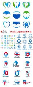 Vectors - Dental Logotypes Set 26