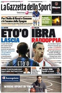 La Gazzetta dello Sport (10-08-11)