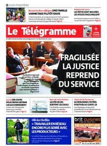 Le Télégramme Concarneau – 18 mai 2020