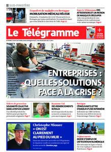 Le Télégramme Quimper – 06 avril 2020